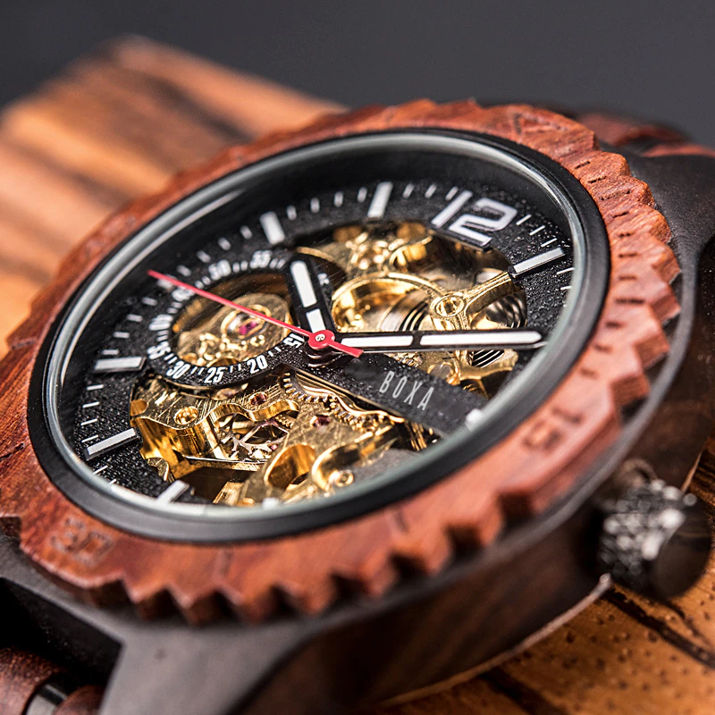 The Hunter Wooden Watch by BOXA Lifestyle