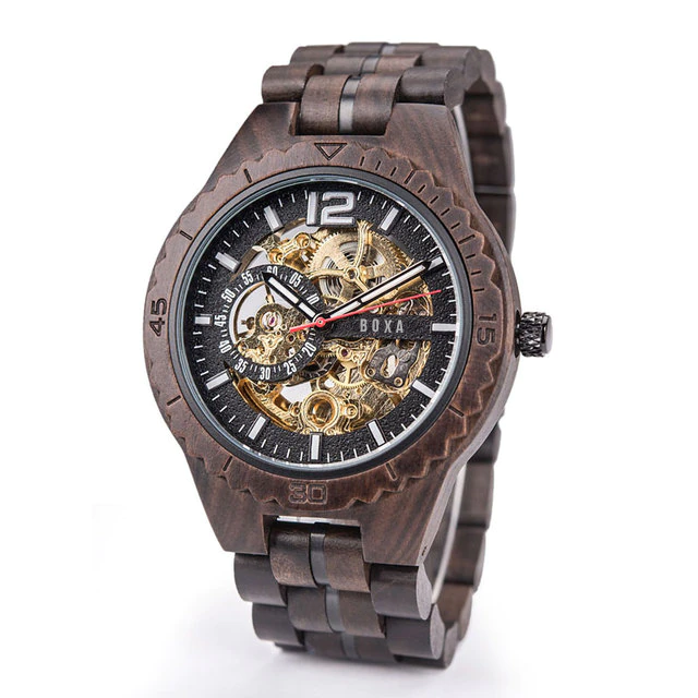 The Hunter Wooden Watch - BOXA Lifestyle