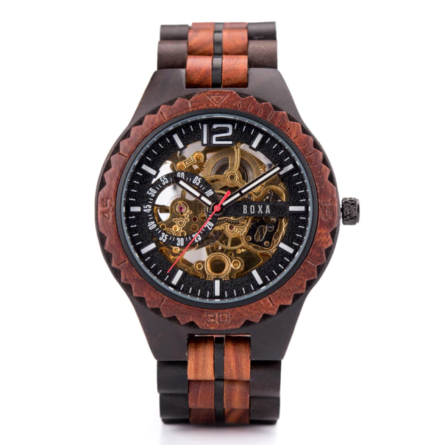 The Hunter Wooden Watch 03 - BOXA Lifestyle